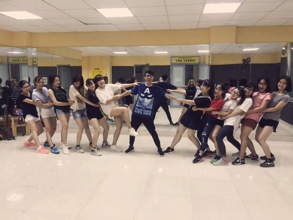 Thành quả của lớp học nhảy hiện đại Shuffle Dance cơ bản