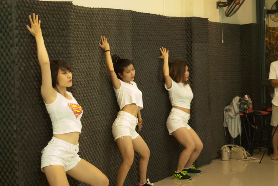 Thành quả tháng 4 lớp sexy dance Kn24 cơ sở Trung Kính