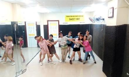 Quá trình tập luyện của các học viên tại Sweet Art