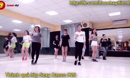 THÀNH QUẢ LỚP SEXY DANCE C26 THÁNG 11