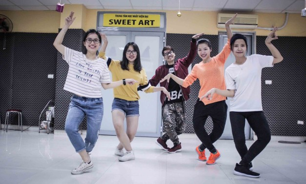 TỔNG HỢP THÀNH QUẢ LỚP SHUFFLE DANCE C47 THÁNG 1