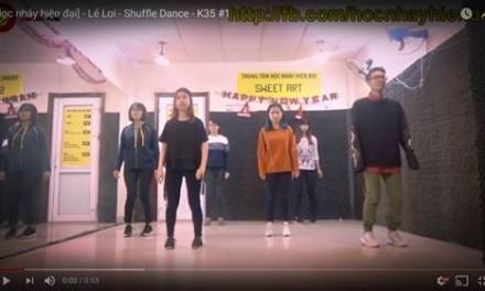 Tổng hợp thành quả lớp Shuffle Dance K35 tháng 1
