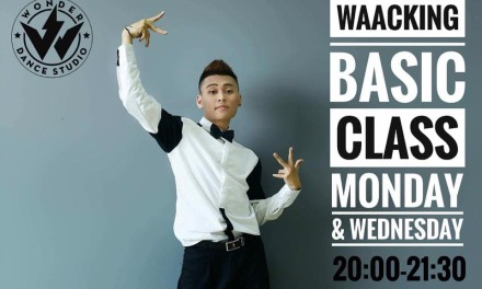 Lớp Waacking: thứ 2 – 4 (20h-21h30)