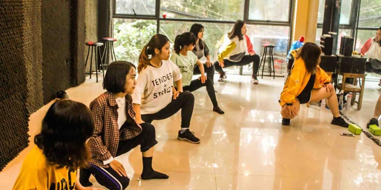 Giới thiệu bài nhảy tháng 4 của lớp sexy dance kn246