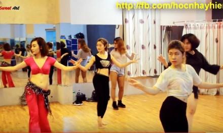 GIỚI THIỆU BỘ MÔN MỚI CỦA SWEET ART: BELLY DANCE