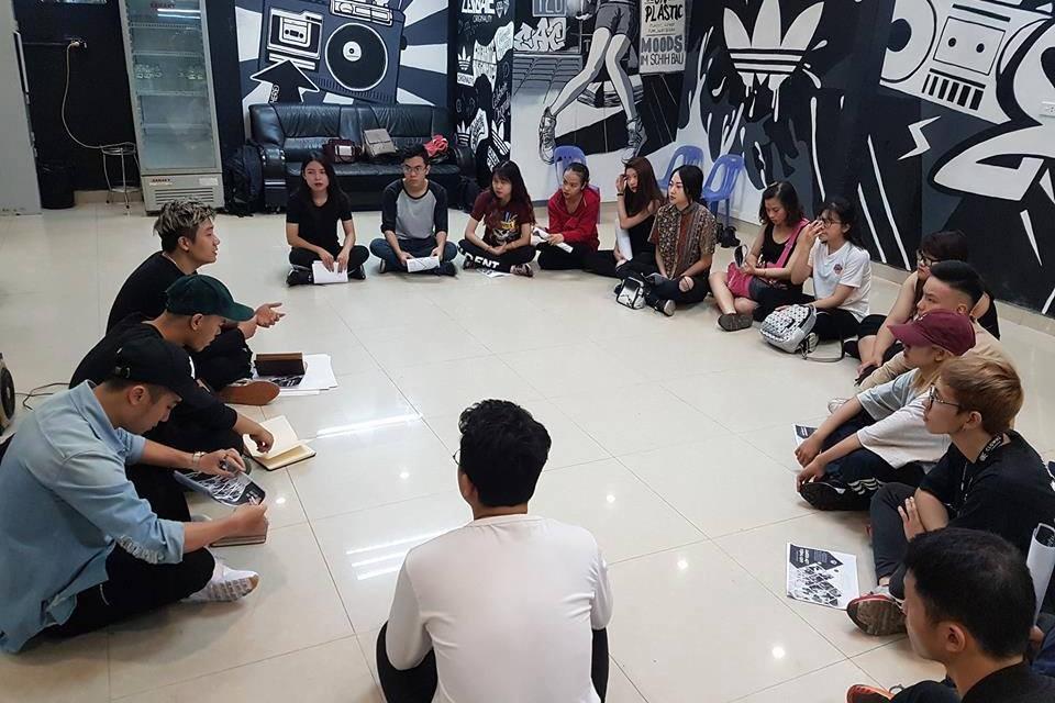 SWEET ART HỢP TÁC LIÊN KẾT CÙNG HANOI DANCE ACADEMY