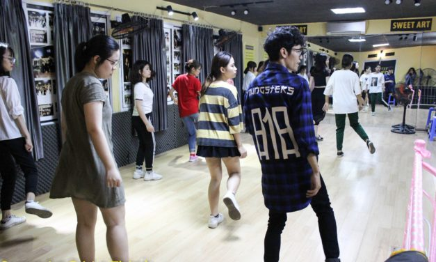 Học nhảy ở Đê La Thành   Trung tâm học nhảy Sweet Art