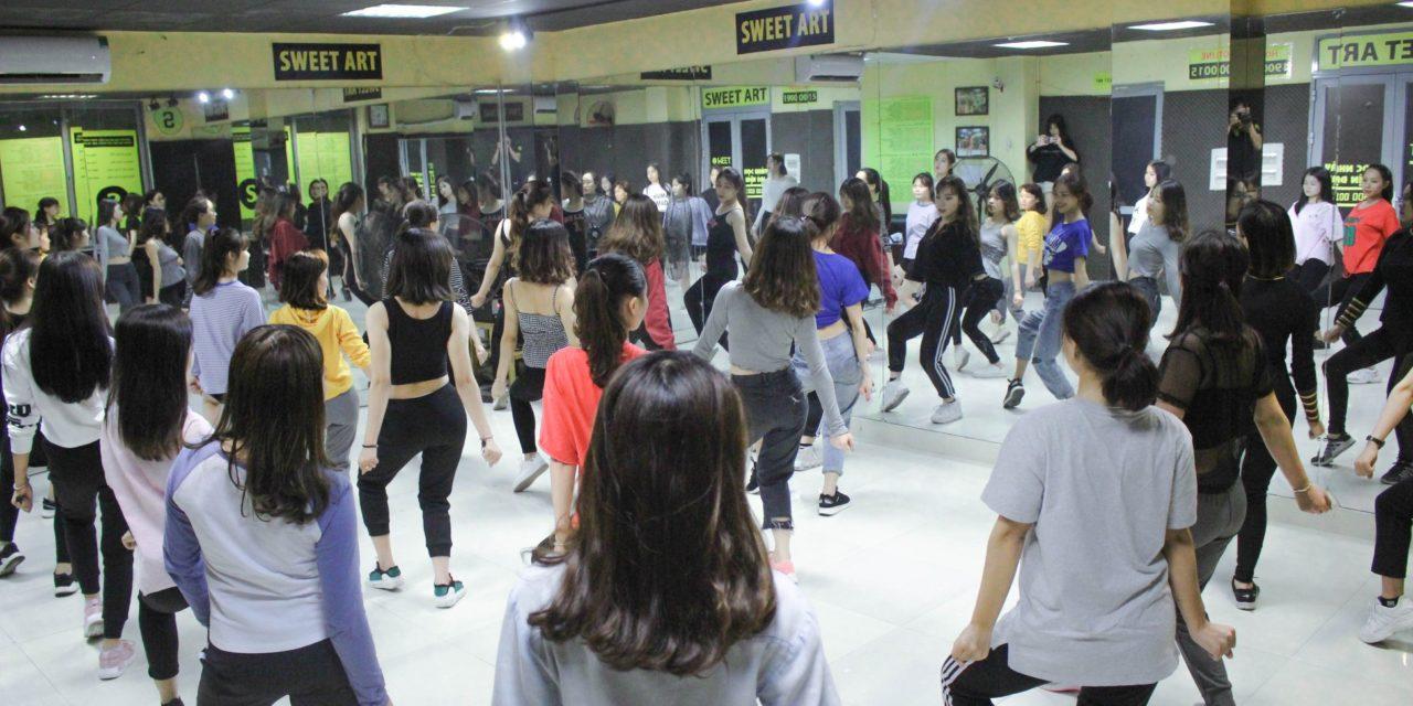 Học nhảy ở Cầu Giấy   Trung tâm học nhảy Sweet Art