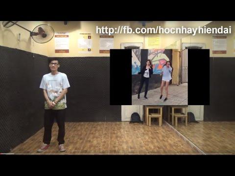 hoc nhay shuffle dance bai 1