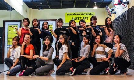 Thành quả sau 1 tháng học của lớp Sexy dance Kt35 Trung Kính