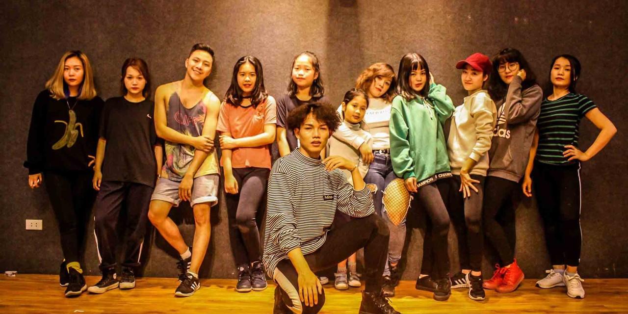 Thành quả tháng 3 lớp Sexy dance  V26