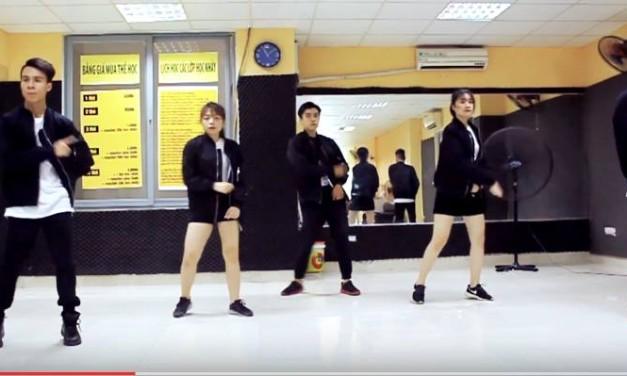 DANCE VIDEO CHOREOGRAPHY – SWEET ART