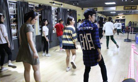 Học nhảy ở Đê La Thành | Trung tâm học nhảy Sweet Art