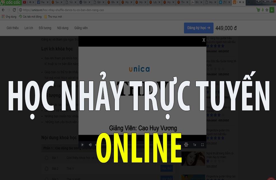 hoc nhay online
