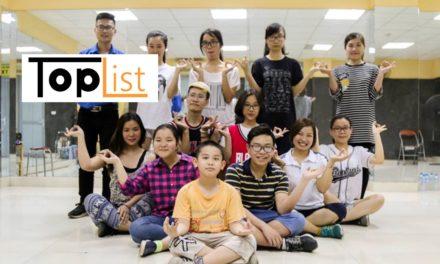 Toplist.vn | Top 5 địa chỉ học nhảy hiện đại tốt nhất ở Hà Nội